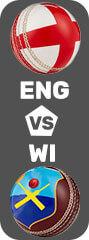 England vs West Fantasy Cricket league