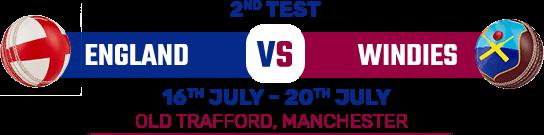 England vs West Match Schuduler